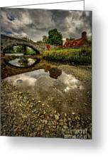 Stone Bridge Greeting Card by Adrian Evans