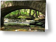 Stone Bridge II Greeting Card by Elizabeth Dow