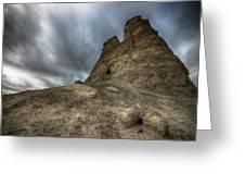 Stone Tower Greeting Card by Garett Gabriel