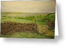 Stone Wall Greeting Card by Jeff Lucas