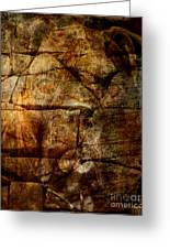 Stone Wall Greeting Card by Judy Wood