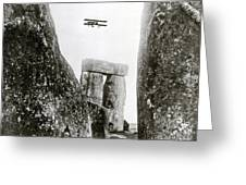 Stonehenge 1914 Greeting Card by Science Source