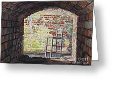 Stopped In Time Greeting Card by Lynette Cook