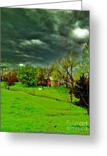 Storm Anticipation Greeting Card by PainterArtist FIN