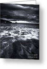 Storm Clearing Greeting Card by Mike  Dawson