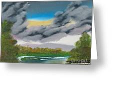 Storm Clouds Greeting Card by Dave Atkins
