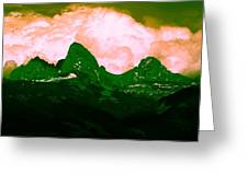 Storm Coming Greeting Card by Aaron Carper