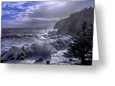 Storm Lifting At Gulliver's Hole Greeting Card by Marty Saccone