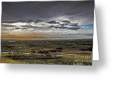 Storm Over Emmett Valley Greeting Card by Robert Bales