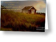 Storms Of Life Greeting Card by Beverly Guilliams