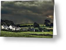 Stormy Hamlet Greeting Card by Amanda And Christopher Elwell