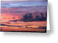 Stormy Skies Greeting Card by  Photographic Art and Design by Dora Sofia Caputo
