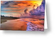 Stormy Skies Greeting Card by Michael Pickett