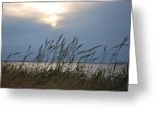 Stormy Sunset Prince Edward Island II Greeting Card by Micheline Heroux