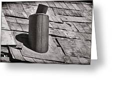 Stove Pipe Greeting Card by Kelley King