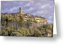 St.paul De Vence Greeting Card by Guido Borelli