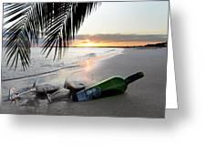Lost In Paradise Greeting Card by Jon Neidert
