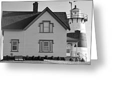 Stratford Point Greeting Card by Catherine Reusch  Daley