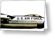 Stratojet Greeting Card by Benjamin Yeager
