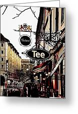 Street In Berlin Greeting Card by Gynt