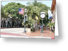 Street Of St.barbara Greeting Card by Christiane Schulze Art And Photography