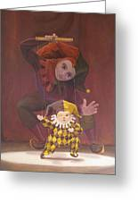 Strings Attached Greeting Card by Leonard Filgate