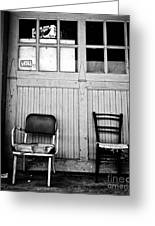 Strip District Doorway Number Eight Greeting Card by Amy Cicconi