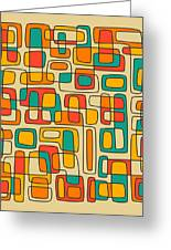 Subdivisions Greeting Card by Jazzberry Blue