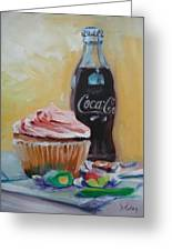 Sugar Overload Greeting Card by Donna Tuten