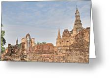 Sukhothai Historical Park - Sukhothai Thailand - 011316 Greeting Card by DC Photographer