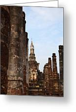 Sukhothai Historical Park - Sukhothai Thailand - 011320 Greeting Card by DC Photographer