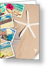 Summer Beach Postcards Greeting Card by Amanda And Christopher Elwell