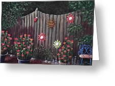 Summer Garden Greeting Card by Anastasiya Malakhova