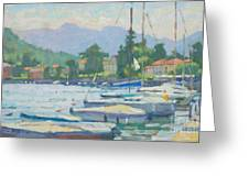 Summer In The Afternoon Greeting Card by Jerry Fresia
