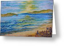 Summer/ North Wales Greeting Card by Teresa White