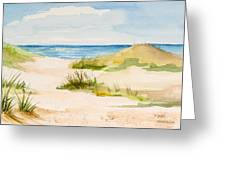 Summer On Cape Cod Greeting Card by Michelle Wiarda