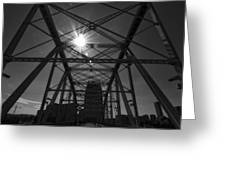 Summer Sun On Shelby Street Bridge Greeting Card by Dan Sproul