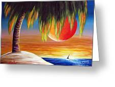 Summer Sunsets By Shawna Erback Greeting Card by Shawna Erback