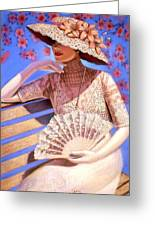 Summer Time Greeting Card by Sue Halstenberg