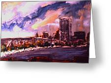 Summerfest Greeting Card by Les Leffingwell