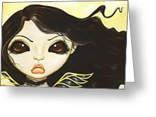Sun Fae Greeting Card by Elaina  Wagner