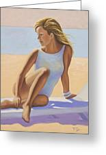 Sun Kissed Greeting Card by Catherine Tarbox