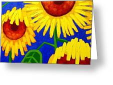 Sun Lovers Greeting Card by John  Nolan