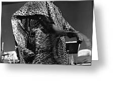 Sun Ra 1968 Greeting Card by Lee  Santa