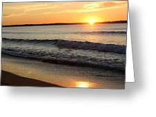 Sun Rise Greeting Card by Carla  Kutt