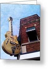 Sun Studio Entrance Greeting Card by Suzanne Barber