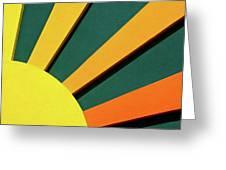 Sunbeams Greeting Card by Christi Kraft