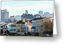 Sunday At Marina Green Park Fort Mason San Francisco Ca Greeting Card by Artist and Photographer Laura Wrede