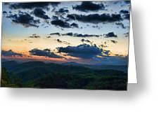 Sundown Greeting Card by Steven Richardson