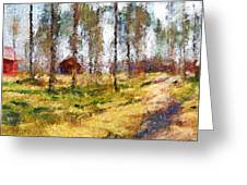 Sunny Day In April Greeting Card by Yury Malkov